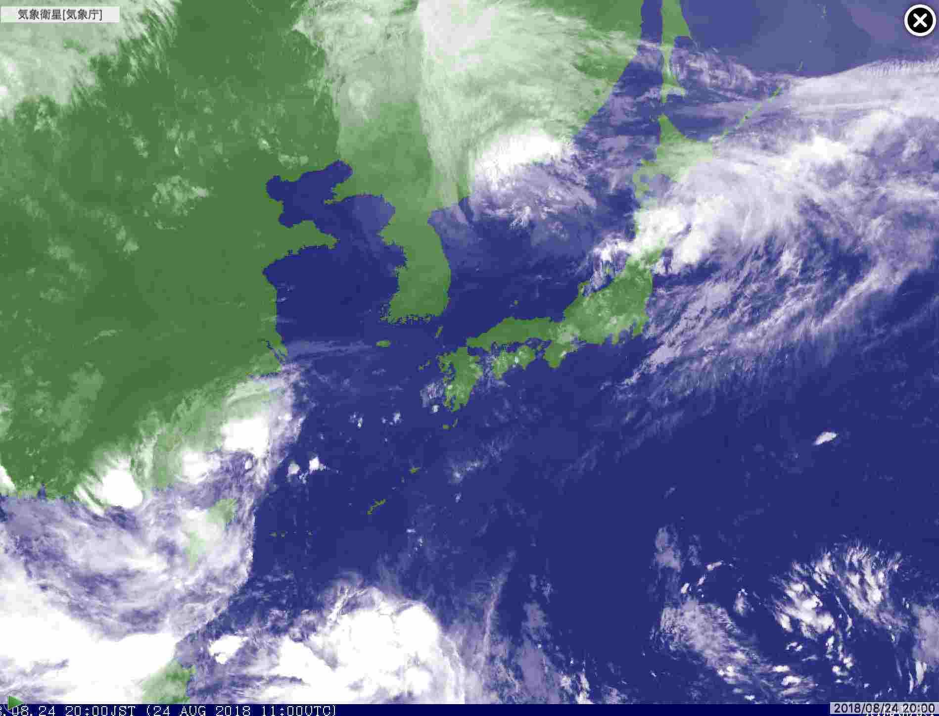 ツイン台風が崩れながら北海道接近中_c0025115_21140850.jpg