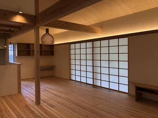 """平屋建て \"""" FUKUROI・FOREST HOUSE \"""" が完成しました!_b0111173_16412517.jpg"""