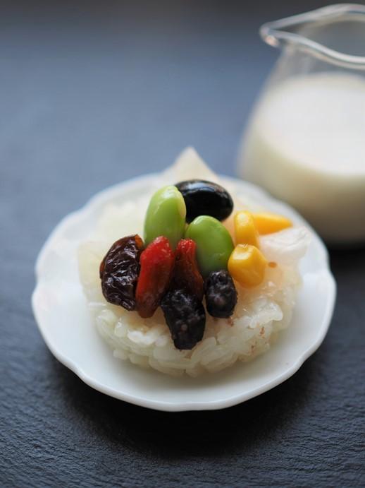 糯米とココナッツのデザート_e0148373_11415817.jpg