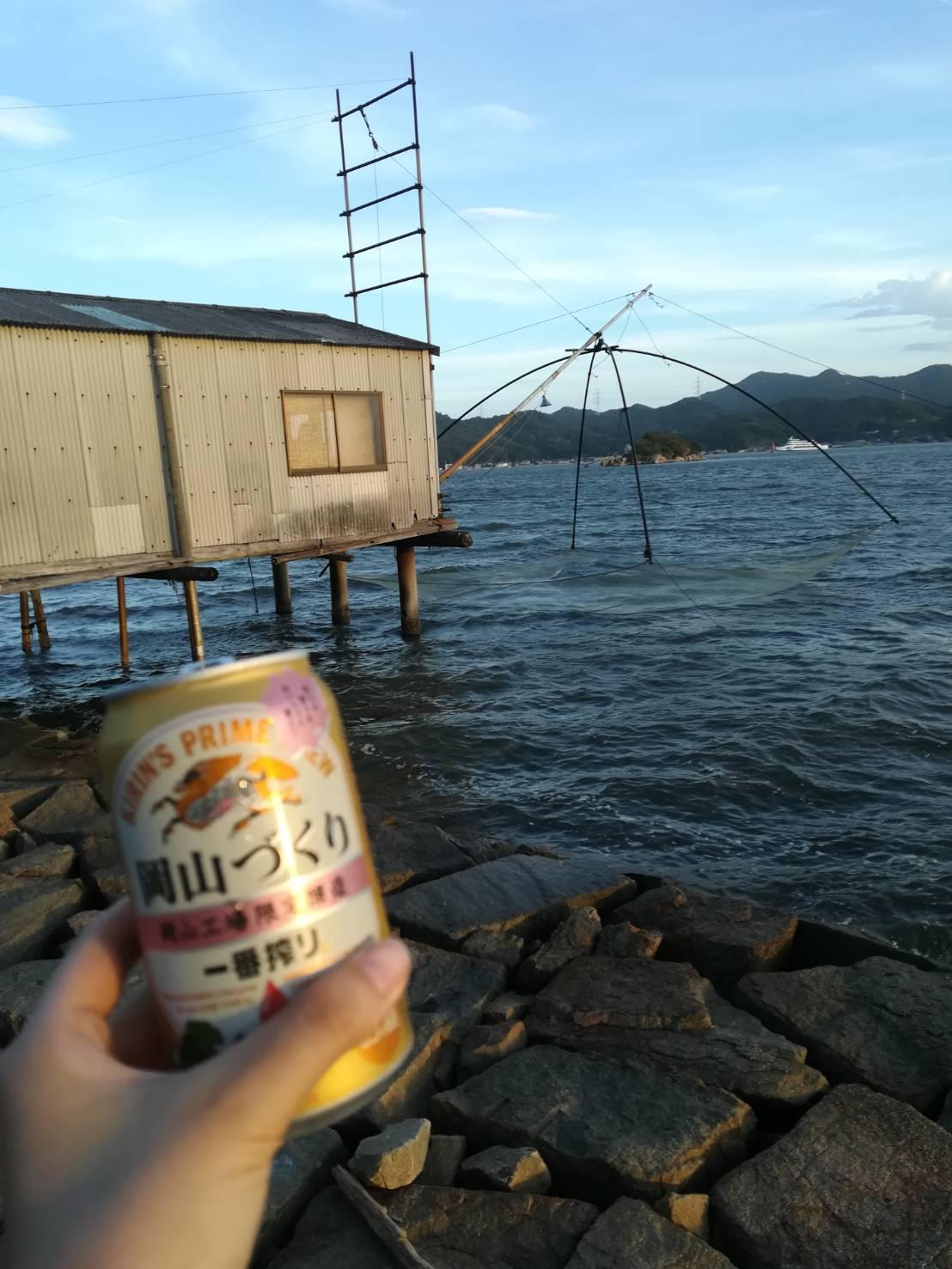 へなちょこ魚好きファミリー、岡山の海で漁をする_c0274374_00405822.jpeg