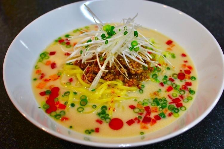 常備菜、和風麻婆肉味噌を使って冷やし豆乳担々麺&おぼろ豆腐の冷やし麻婆。_a0223786_09113196.jpg