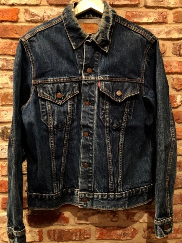 "Late 1960s "" LEVI\'S \"" - 70505 BIG E - VINTAGE DENIM TRUCKER JACKET ._d0172088_19181381.jpg"