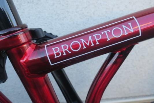 BROMPTON 9streets (ナインストリート)Special Edition      入荷しました!_c0132901_19445240.jpg