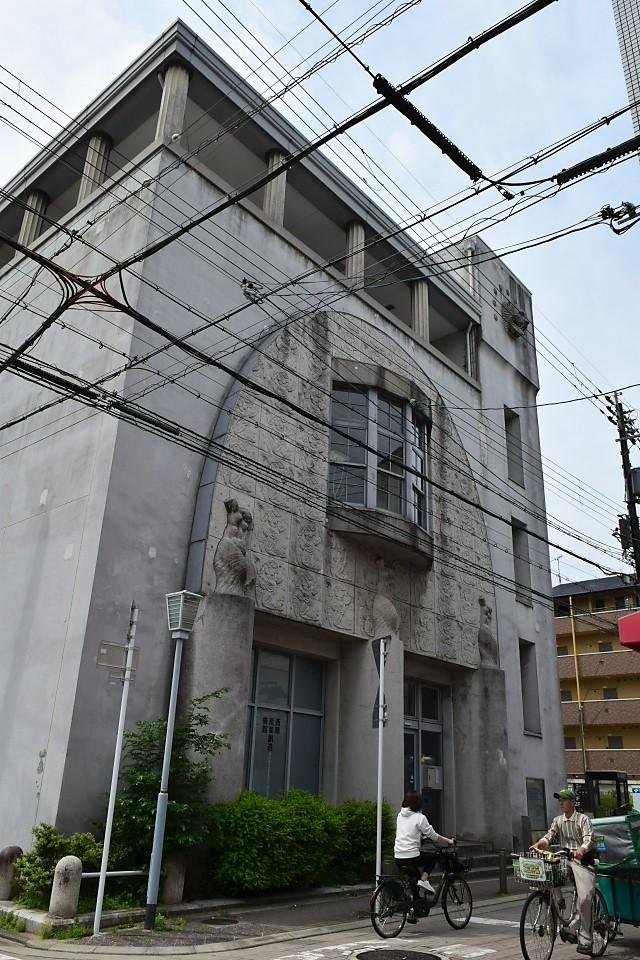 旧京都中央電話局西陣分局(大正モダン建築再訪)_f0142606_09254343.jpg