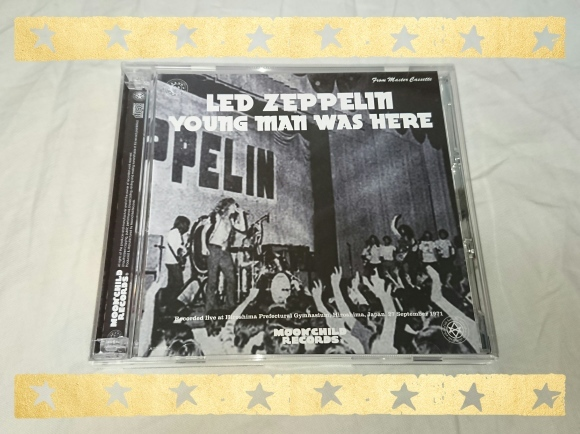 LED ZEPPELIN / YOUNG MAN WAS HERE_b0042308_15200272.jpg