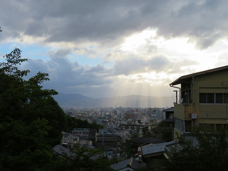 清水寺から京都市街を眺望20180824_e0237645_23463647.jpg