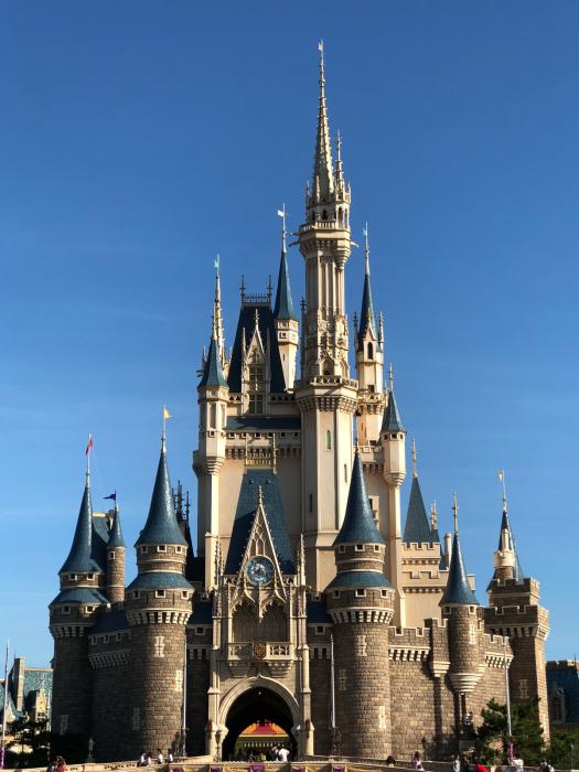 35周年の東京ディズニーランドシンデレラ城の姿 Lets Enjoy Everyday