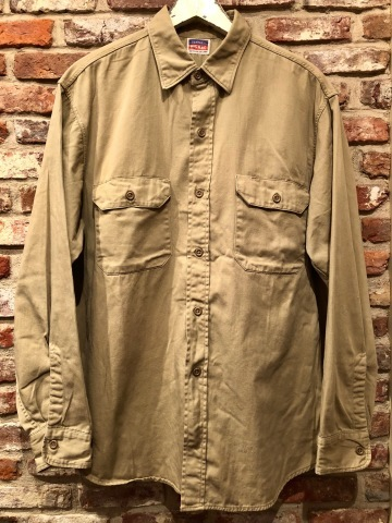 "1950s "" BIG MAC - PENNEY\'S - \"" 100% cotton VINTAGE - マチ付き - CHINOS WORK SHIRTS ._d0172088_21323495.jpg"