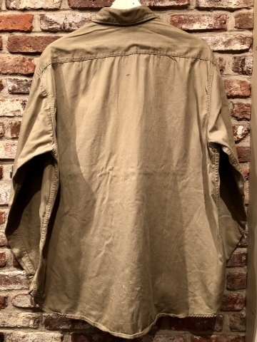 "1950s "" BIG MAC - PENNEY\'S - \"" 100% cotton VINTAGE - マチ付き - CHINOS WORK SHIRTS ._d0172088_21330996.jpg"