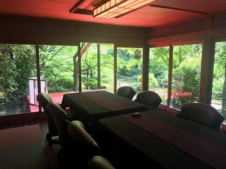 夏の着物で、お客様と普茶料理の閑臥庵 (かんがあん)へ_f0181251_13462625.jpg