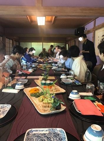 夏の着物で、お客様と普茶料理の閑臥庵 (かんがあん)へ_f0181251_13563414.jpg