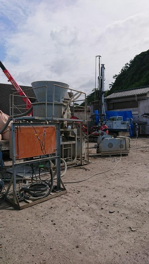 鹿児島市の保育園杭工事が始まりました。_d0174072_18341230.jpg