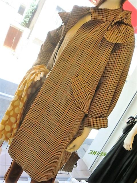 チェックのコート・・・・・☆_c0113499_12173502.jpg
