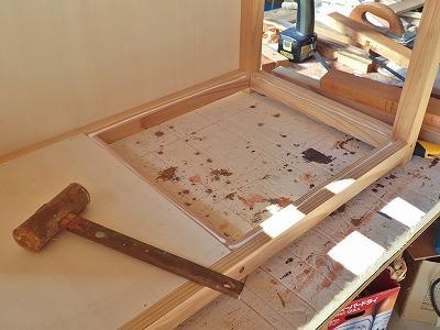 収納テーブル製作のその後・・・_c0336902_19091597.jpg