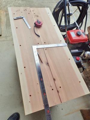 収納テーブルの製作(完成)_c0336902_19522296.jpg