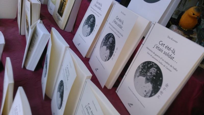 """「パリで金子兜太先生を偲ぶ会」と「檻の会」8月例会の報告 """"Après-midi Tōta"""" à Paris et atelier de haiku au Mémorial_e0375210_09423007.jpg"""
