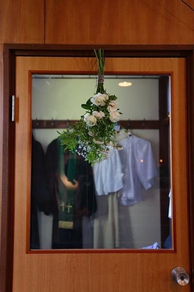 代官山の教会装花 本多記念教会様へ 一会夏の出張レッスン8月25日_a0042928_19333781.jpg