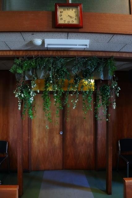 代官山の教会装花 本多記念教会様へ 一会夏の出張レッスン8月25日_a0042928_19381067.jpg