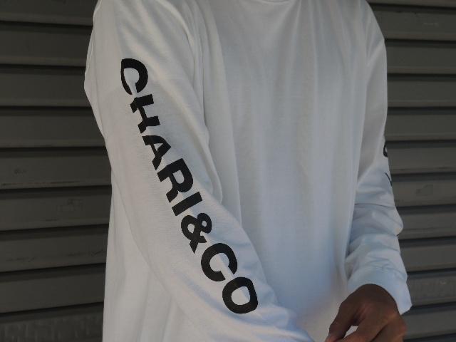 CHARI&CO EYE LOGO L/S TEE!!!_a0221253_18500837.jpg