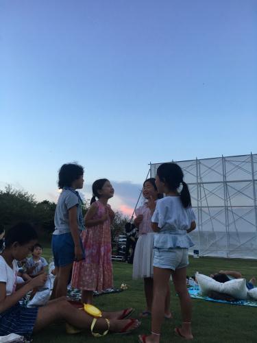 横須賀美術館の野外映画会_e0142956_11524637.jpg