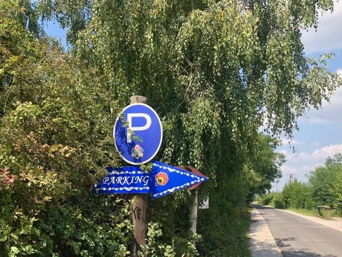 ポーランドの旅 22  ウォヴィチ で切り絵体験♪_a0092659_01401426.jpg