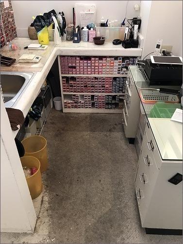 【 美容室のカラーブース整理収納作業 BEFORE-AFTER 】_c0199166_15492295.jpg