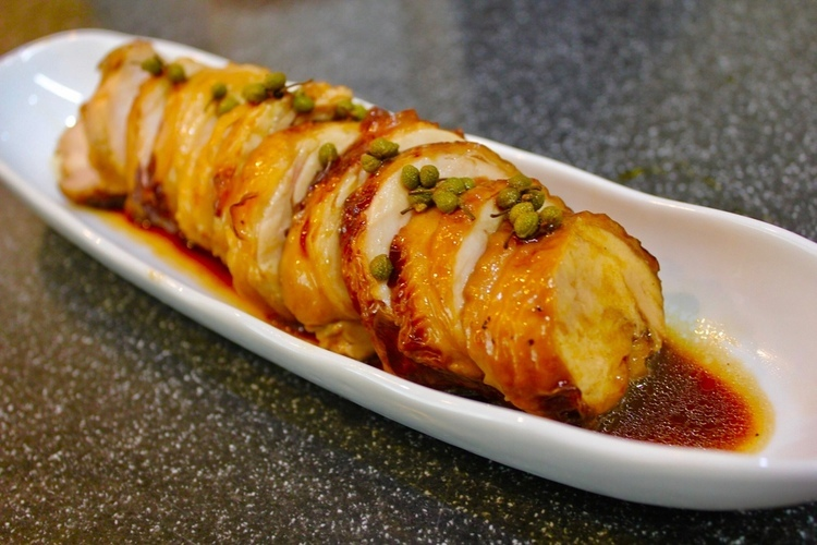 山椒風味のオトナの鶏チャーシュー_a0223786_08464778.jpg