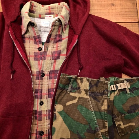 "1960s "" BIG MAC - Penney\'s - \"" 100% cotton Vintage CHECK FLANNEL SHIRTS ._d0172088_21504915.jpg"