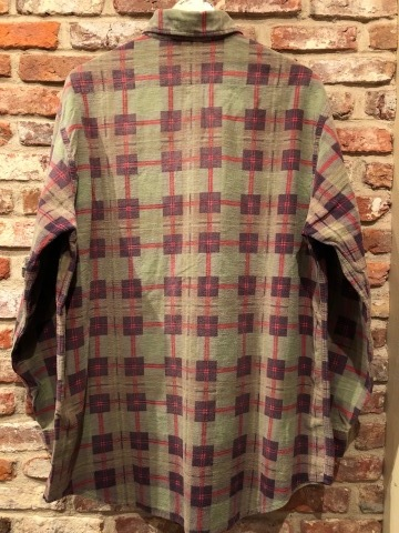 "1960s "" BIG MAC - Penney\'s - \"" 100% cotton Vintage CHECK FLANNEL SHIRTS ._d0172088_21594267.jpg"
