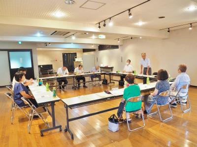 市の「行政改革推進委員会」が会館で開かれました_c0336902_20272075.jpg