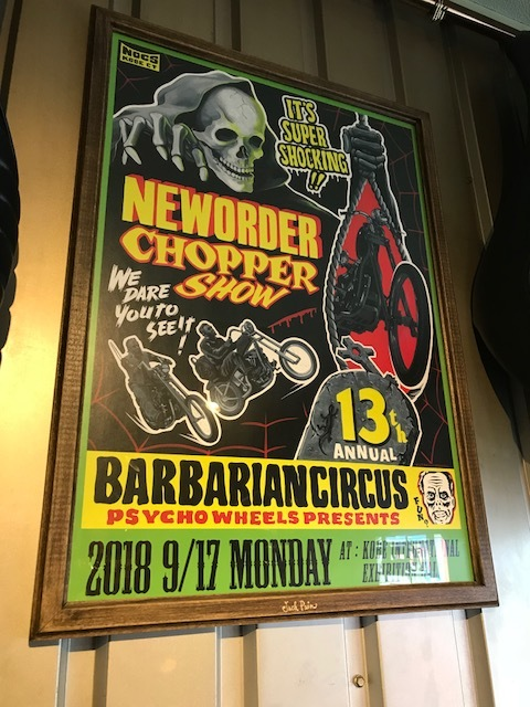 NEW ORDER CHOPPER SHOW 2018/9/17_b0160319_14314243.jpg