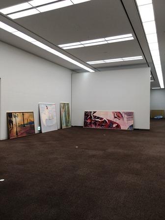 作業日誌(第54回 日本画 白士会展作品展示作業)_c0251346_17062900.jpg