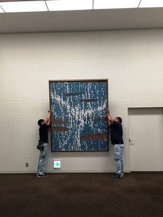 作業日誌(第54回 日本画 白士会展作品展示作業)_c0251346_17064832.jpg
