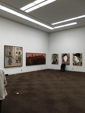 作業日誌(第54回 日本画 白士会展作品展示作業)_c0251346_17065554.jpg