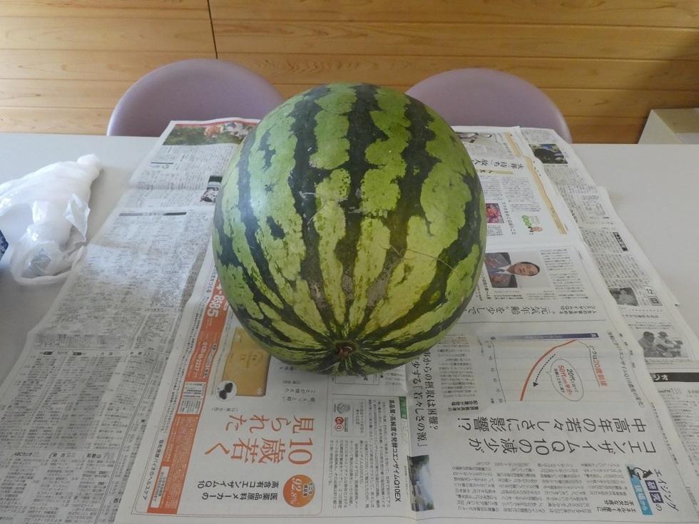 夏の味 スイカ_f0205367_08470969.jpg