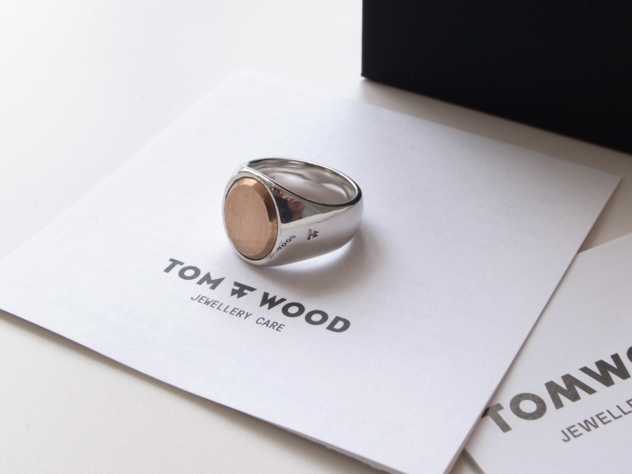 TOM WOOD OVAL GOLD TOP ROSE RING_f0111683_13150986.jpg