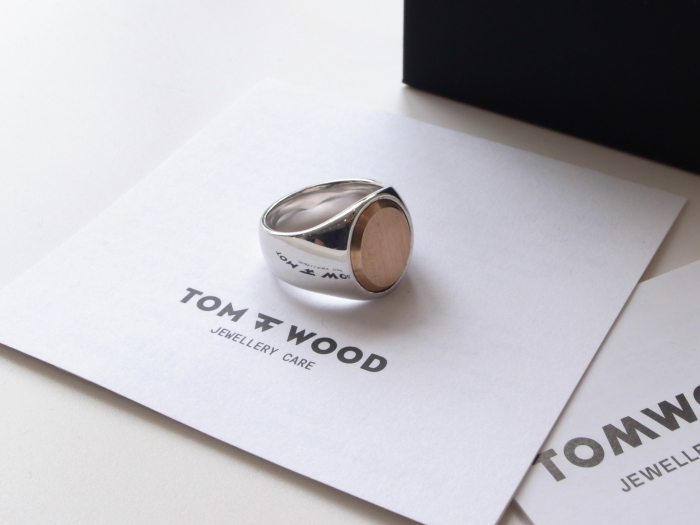 TOM WOOD OVAL GOLD TOP ROSE RING_f0111683_13152207.jpg