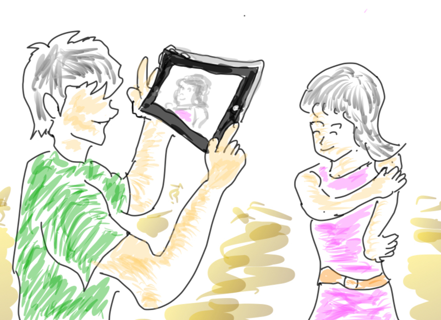 iPadで互いに撮影する活動_c0052304_21301593.jpg