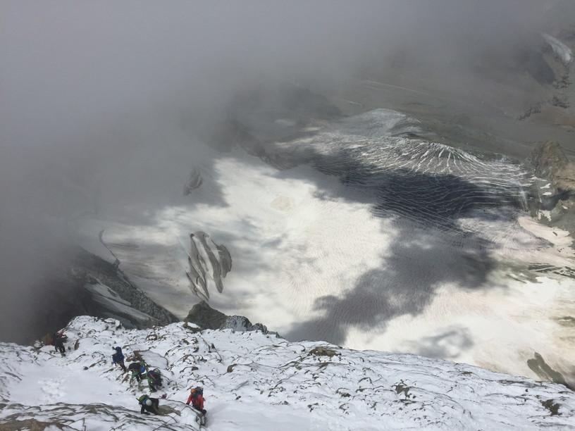 """2018年8月『マッターホルン最終章- 敗退 -』August 2018, \""""Challenge to the summit of Matterhorn\""""_c0219616_12225318.jpg"""