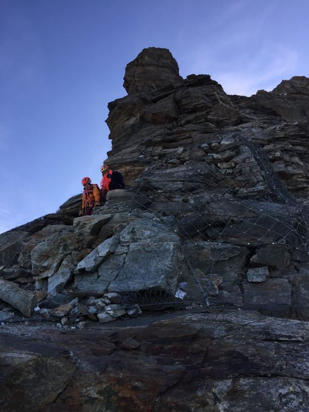 """2018年8月『マッターホルン最終章- 敗退 -』August 2018, \""""Challenge to the summit of Matterhorn\""""_c0219616_12225382.jpg"""
