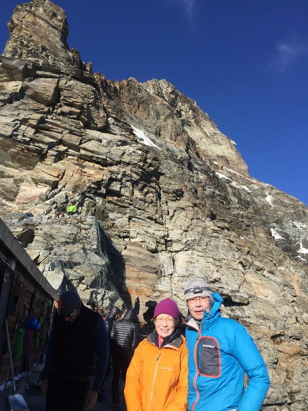 """2018年8月『マッターホルン最終章- 敗退 -』August 2018, \""""Challenge to the summit of Matterhorn\""""_c0219616_12225474.jpg"""