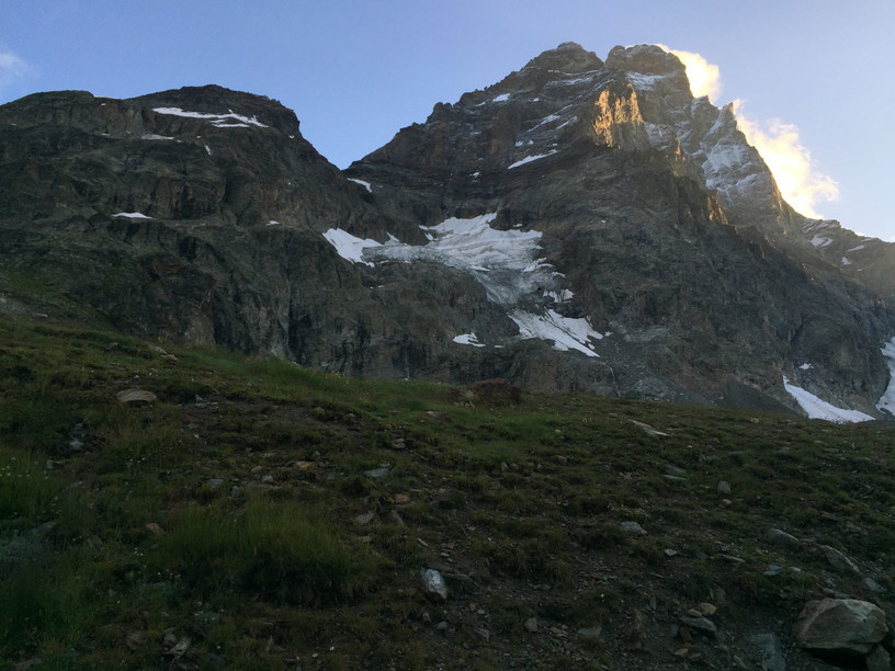 """2018年8月『マッターホルン最終章- 敗退 -』August 2018, \""""Challenge to the summit of Matterhorn\""""_c0219616_12230694.jpg"""