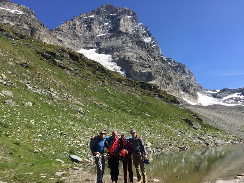 """2018年8月『マッターホルン最終章- 敗退 -』August 2018, \""""Challenge to the summit of Matterhorn\""""_c0219616_14440386.jpg"""