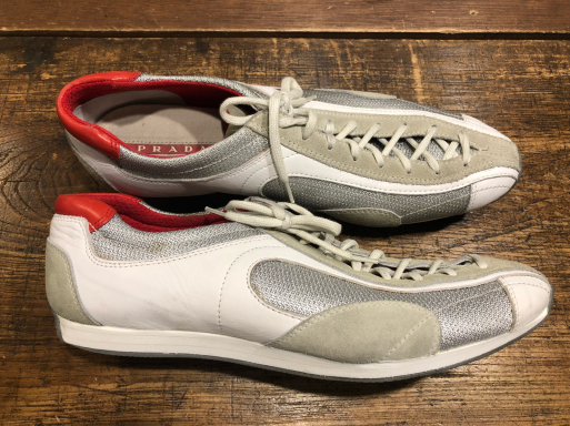 PRADA プラダ スニーカー ブランド靴 ソール修理_b0178425_10563894.jpg