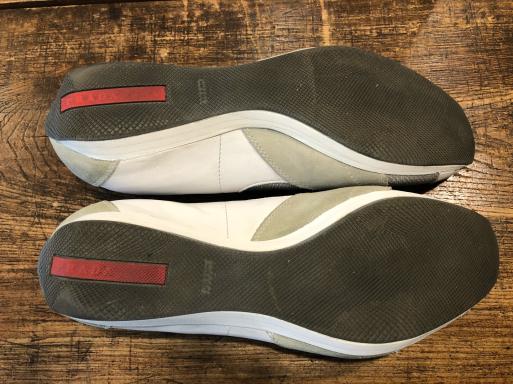 PRADA プラダ スニーカー ブランド靴 ソール修理_b0178425_10573514.jpg