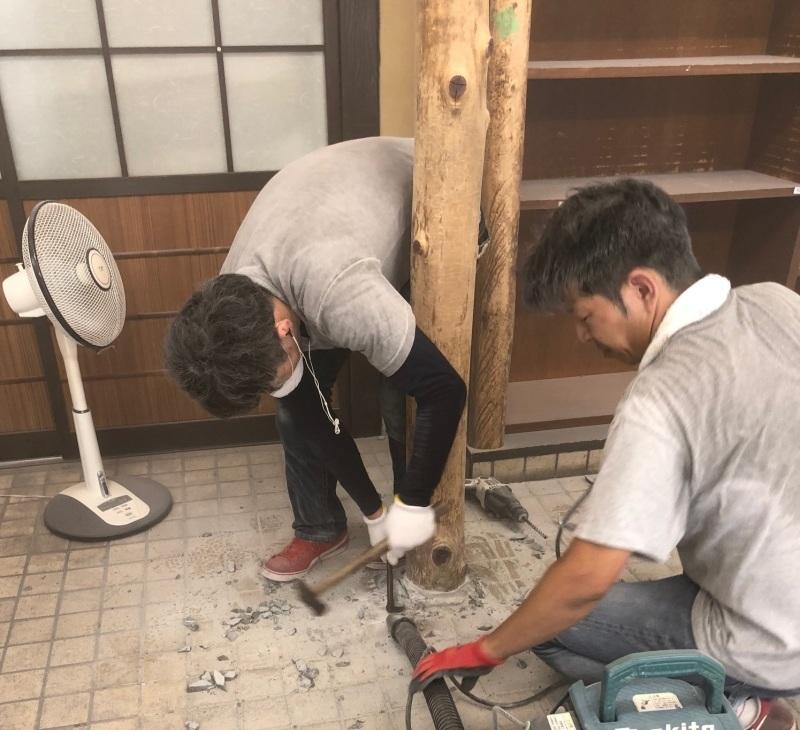 改修工事スタート☆//_b0194630_17461978.jpg
