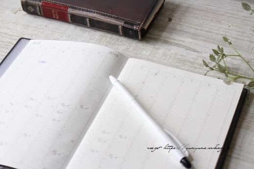 【無印良品】新しい手帳と毎年8月の終わりに続けていること♪_f0023333_22302426.jpg