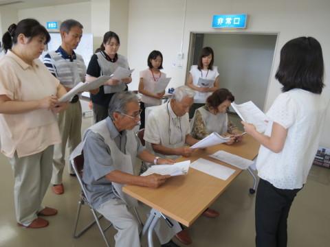 災害救援ボランティアセンターの役割を学ぶ!_b0159251_11360890.jpg
