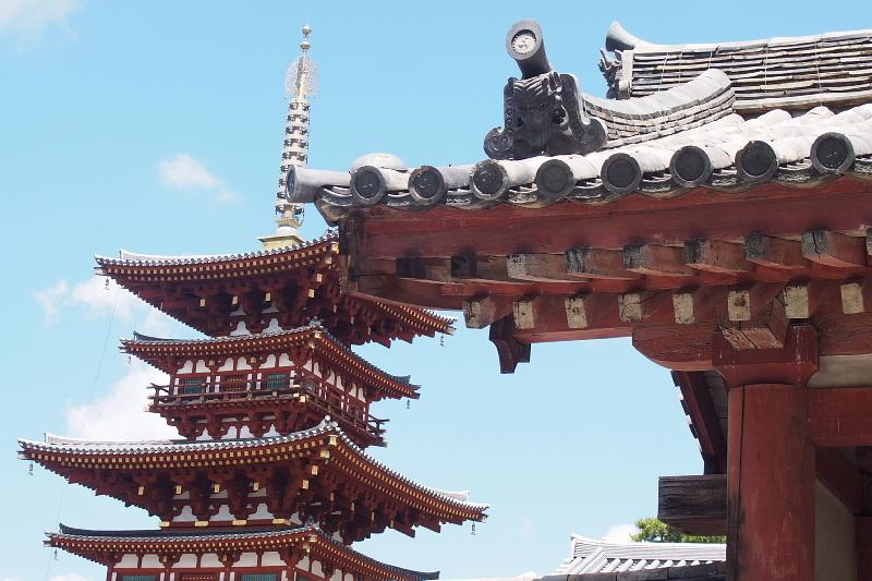 【Photo】天平のソラ④ ~薬師寺編_b0008655_10040207.jpg