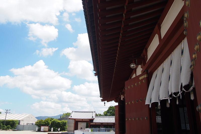 【Photo】天平のソラ④ ~薬師寺編_b0008655_10091878.jpg